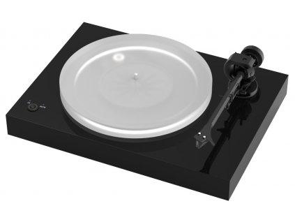 pro ject x2 piano black 2m silver