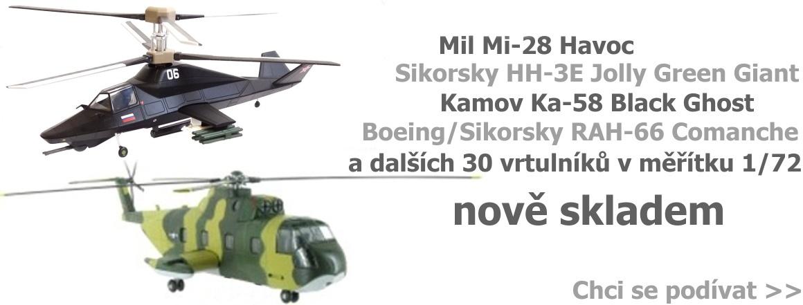 Vrtulníky Altaya