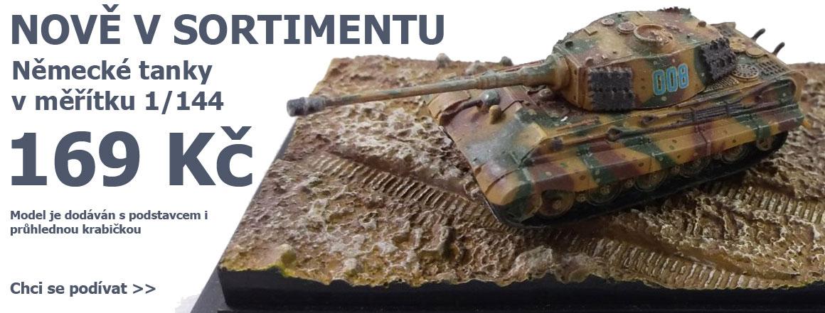 Modely tanků Dragon