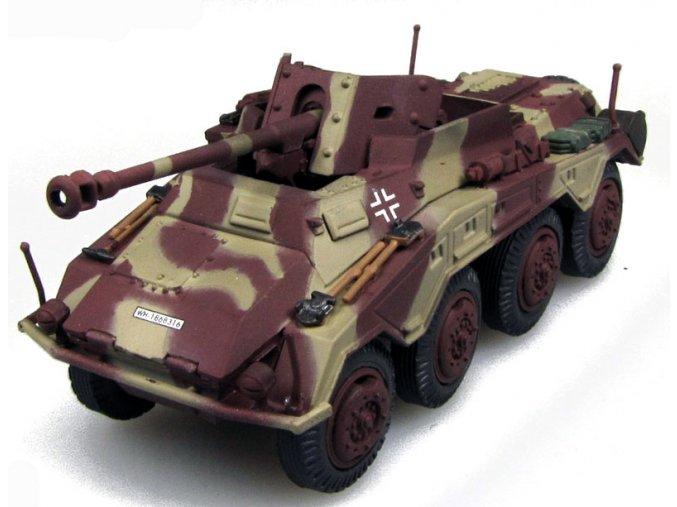 PanzerStahl - Sd.Kfz.234/4 Pakwagen 7,5 cm PaK 40 Puma, Wehrmacht, západní fronta, 1/72