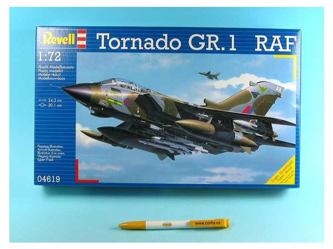 Revell - Panavia Tornado GR.1, RAF,  ModelKit 04619, 1/72