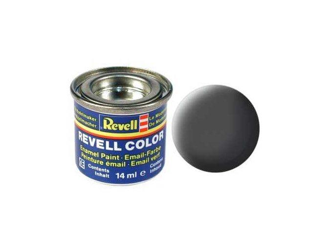 Revell - Barva emailová 14ml - č. 66 matná olivově šedá (olive grey mat), 32166