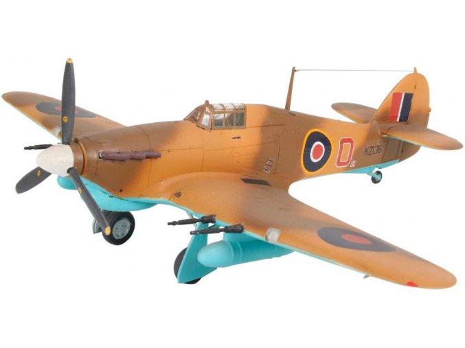 Revell - Hawker Hurricane Mk.IIC, RAF, ModelKit 04144, 1/72