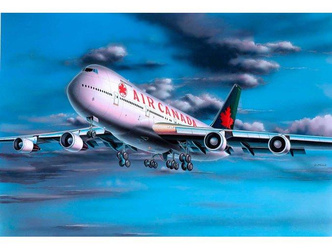 Revell - Boeing B747-200, Air Canada, ModelKit 04210, 1/390