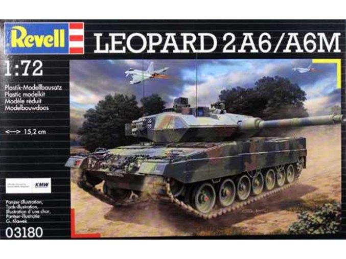 Revell - Leopard 2A6 M, ModelKit 03180, 1/72