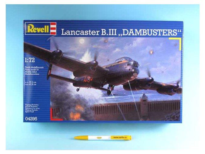 """Revell - Avro Lancaster B.III """"Dambusters'', ModelKit 04295, 1/72"""
