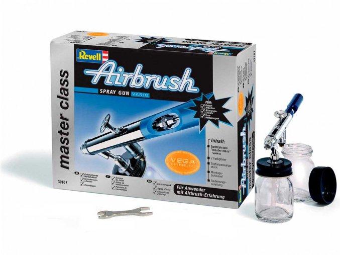 Revell - stříkací pistole Airbrush Spray Gun - master class (Vario), 39107