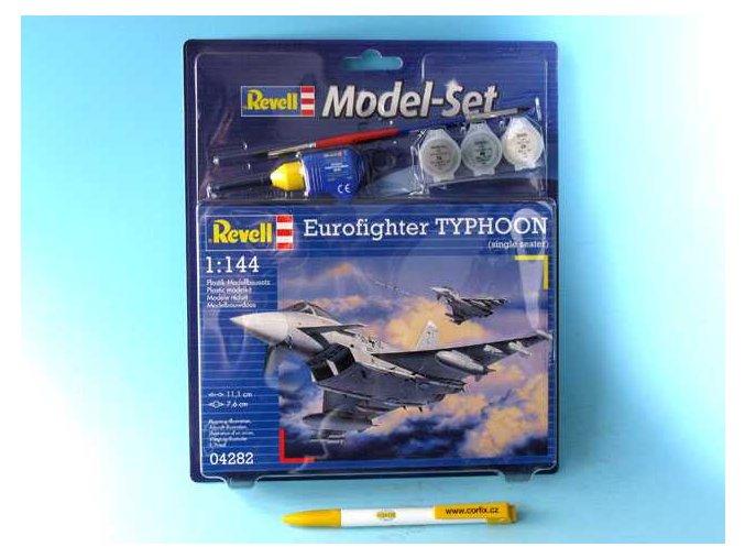 Revell - Eurofighter Typhoon, ModelSet 64282, 1/144