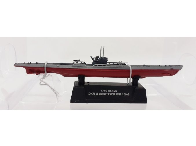 Easy Model - U Boat, Typ IX B, Kriegsmarine, 1943, 1/700