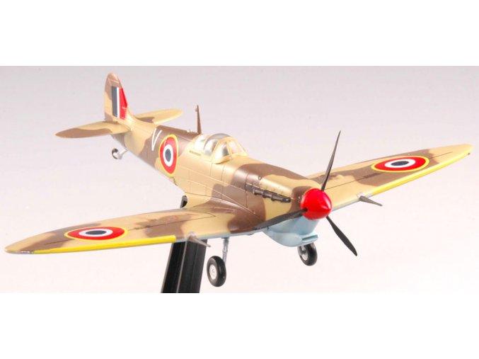 Easy Model - Supermarine Spitfire Mk V, pouštní kamufláž, 1/72