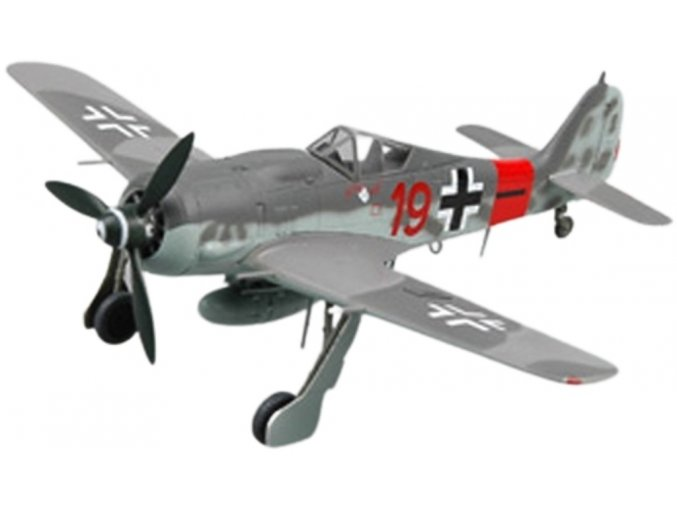 "Easy Model - Focke Wulf Fw-190A-8 ""RED 19"", JG300, Německo, 1944, 1/72"