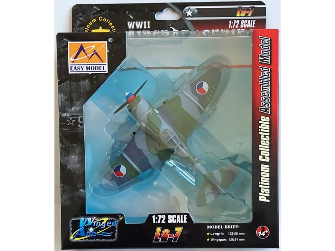Easy Model - Lavočkin La-7, československé letectvo, 1/72