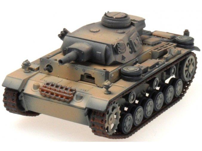 PanzerStahl - Panzer III. Ausf. N, 15.Pz.Div., Afrikakorps 1943, 1/72, SLEVA 33%