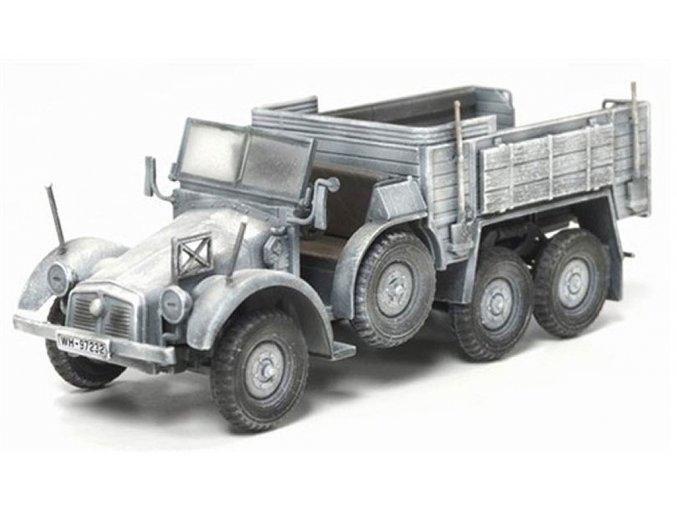 Dragon - Krupp Kfz.70 6x4, nákladní automobil, zimní kamufláž 1/72