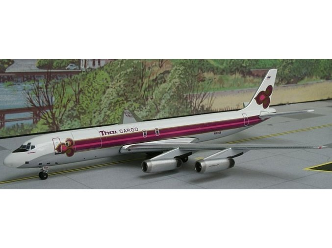 AeroClassic - Douglas DC-8-62, dopravce Thai Airways International Cargo, Thajsko, 1/400