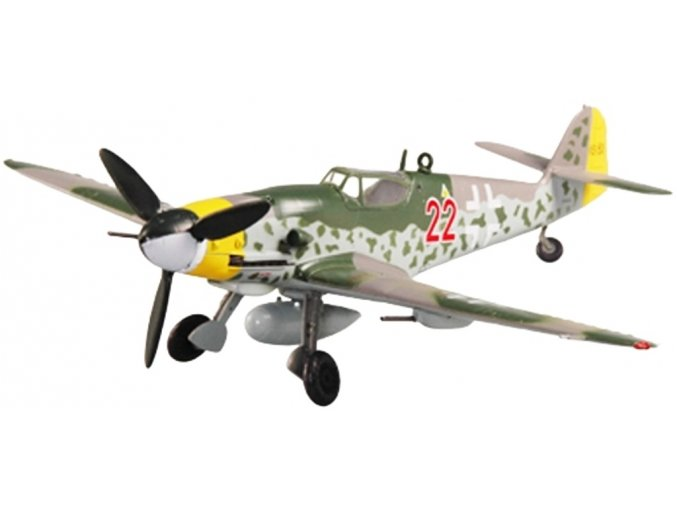 Easy Model - Messerschmitt Bf-109 G-10, Německo, 1945, 1/72