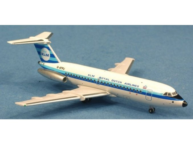AeroClassic - BAC 111-301AG, dopravce KLM Royal Dutch Airlines, Nizozemí, 1/400