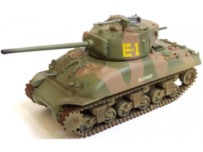 """Easy Model - M4A1 (76)W Sherman, US Army, """"Elowef"""", 1/72"""