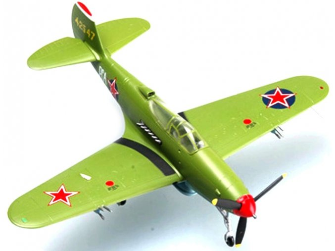 Easy Model - Bell P-39Q Aircobra, sovětské letectvo, ukrajinský front, 1944, 1/72