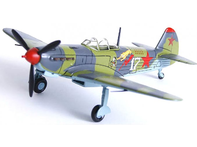 Altaya/IXO - Yakovlev Yak-9, sovětské letectvo, 1/72