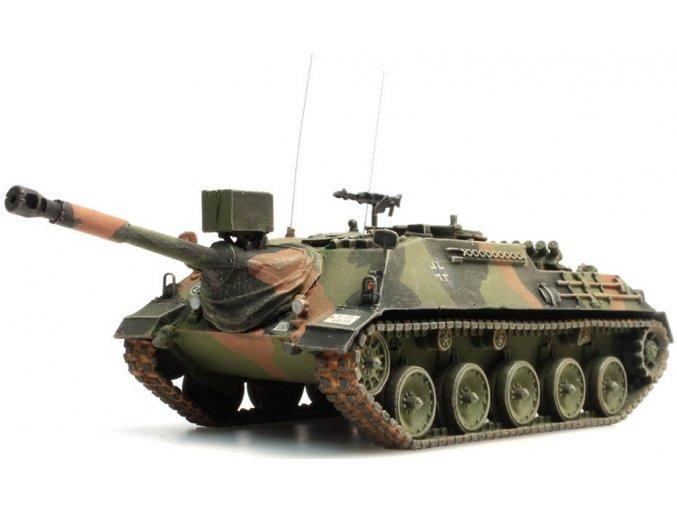BRD Kanonenjagdpanzer 90mm, Versión de Camuflaje, Ejército Alemán, 1 72, Artitec i20072