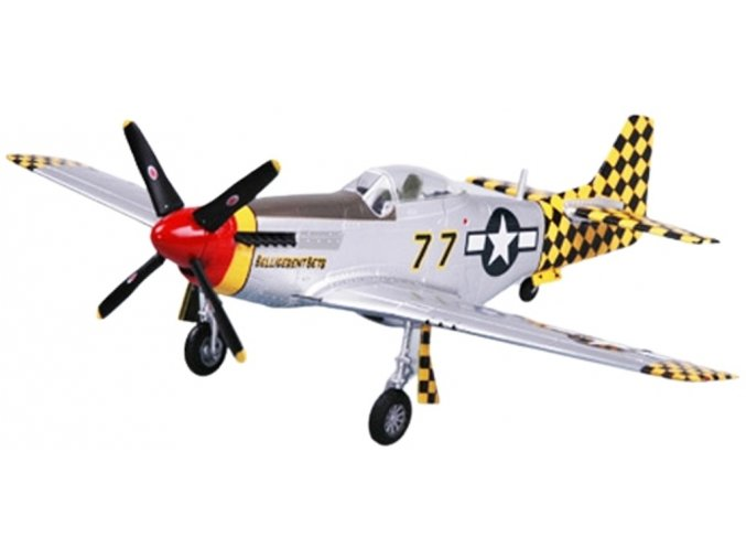 Easy Model - North American P-51D Mustang, USAAF, 319FS, Itálie, 1945, 1/72