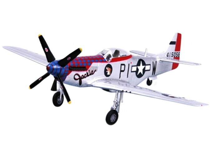 """Easy Model - North American P-51D Mustang, USAAF, 356th FG, """"Jackie"""", 1/72"""