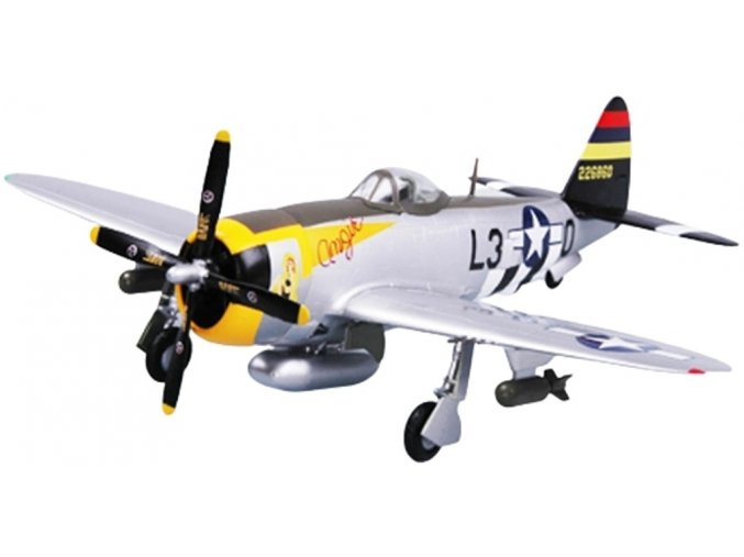 "Easy Model - Republic P-47D Thunderbolt, USAAF, 512.FS, ""Angie"", 1/72"