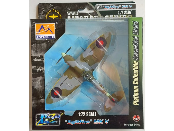 Easy Model - Supermarine Spitfire Mk V, RAF, 121.Sqn, 1/72