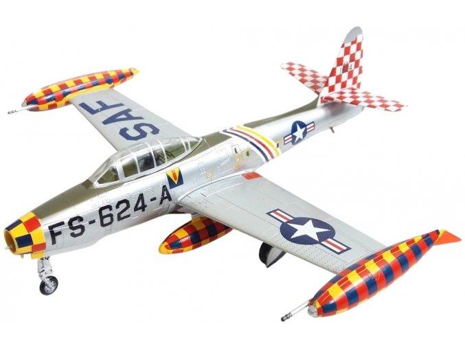 Easy Model - Republic F-84E Thunderjet, USAF, 86th FBW, Laven, Německo, 1951, 1/72