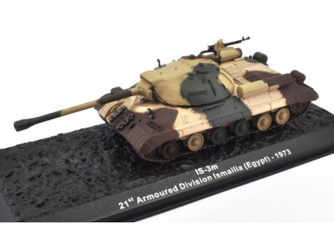 Altaya/IXO - JS-3m, 21. pancéřová divize Ismailia, Egypt, 1973, 1/72 - SLEVA 25%