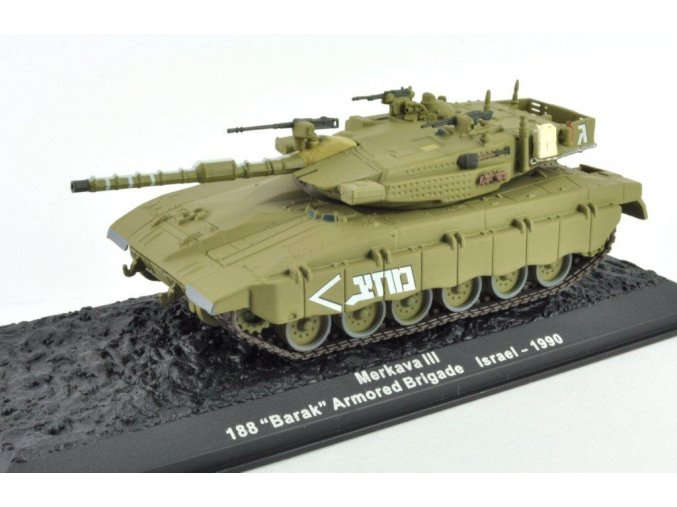 Altaya/IXO - Merkava III, 188. tanková brigáda, Izrael, 1990, 1/72 - SLEVA 25%