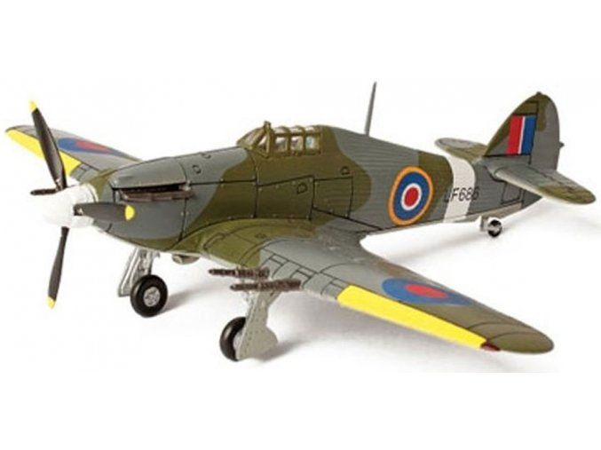 Forces of Valor - Hawker Hurricane Mk.IIC, RAF, 1/72