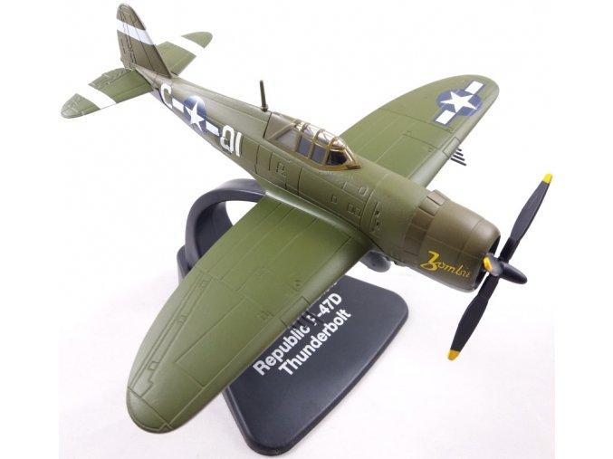 Atlas Models - Republic P-47D Thunderbolt, USAAF, Okinawa, 1945, 1/72