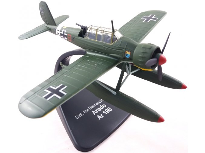 "Atlas Models - Arado Ar 196, Luftwaffe, ""zánik Bismarku, 1941, 1/72"