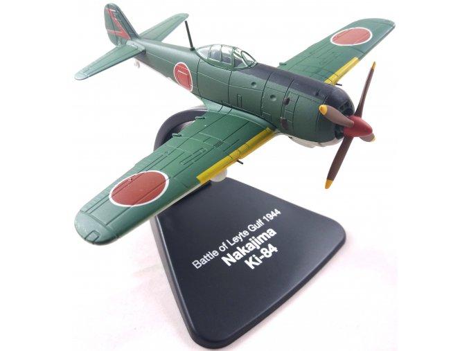 """Atlas Models - Nakajima Ki-84 Hayate """"Frank"""", japonské letectvo, Bitva v Leytském zálivu, 1944, 1/72"""