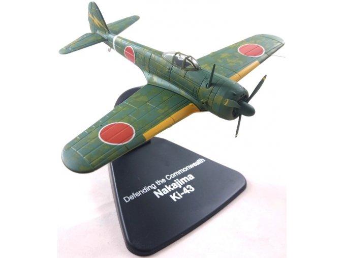 "Atlas Models - Nakajima Ki-43 Hayabusa ""Oscar"", japonské letectvo, ""Obrana Commonwealthu"", 1/72"