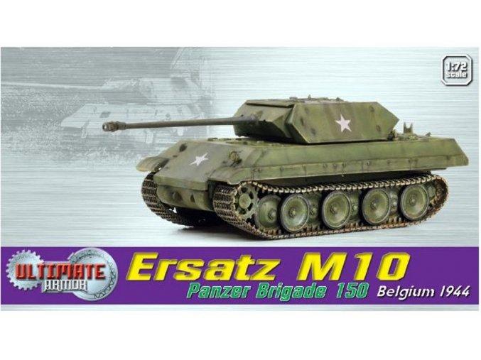"Dragon - Ersatz M10 ""Panther"", SS Panzer Brigade 150, bitva o výběžek, Ardeny, 1944, 1/72"