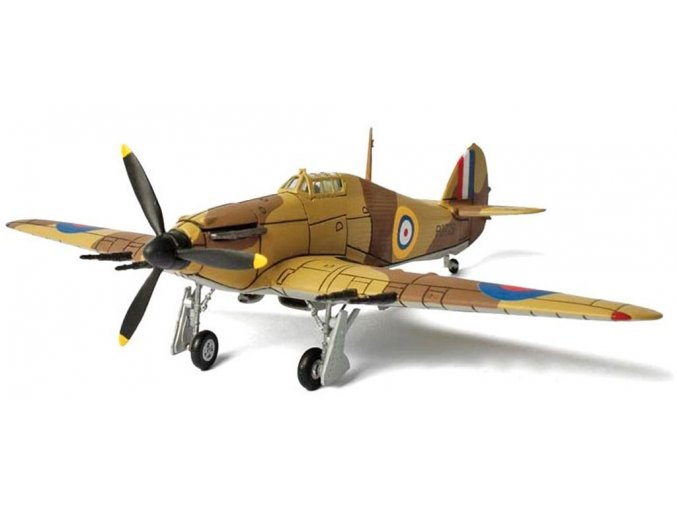 Forces of Valor - Hawker Hurricane Mk.II, RAF, Egypt, 1940, 1/72