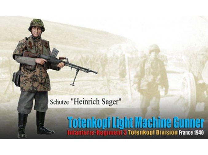 Dragon - Heinrich Sager, střelec, SS divize Totenkopf, Francie, 1940, 1/6