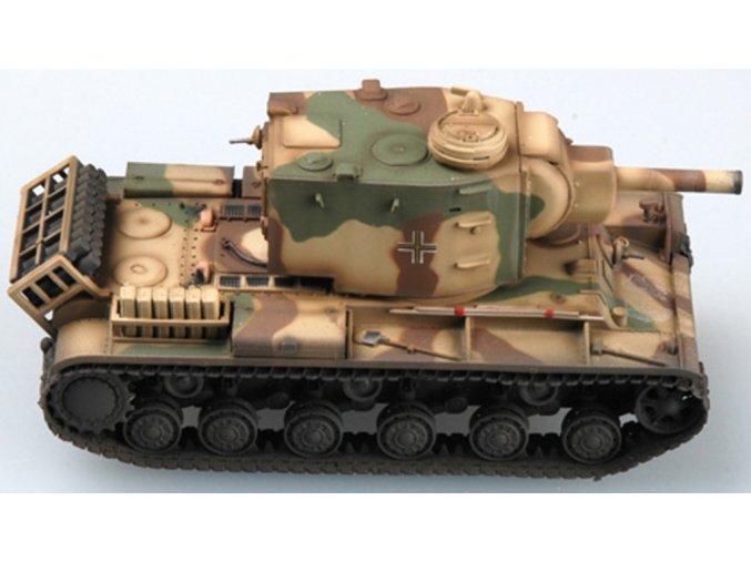Easy Model - KV-2 / Pz.Kpfm.754R, Wehrmacht - kořistní varianta, 1/72