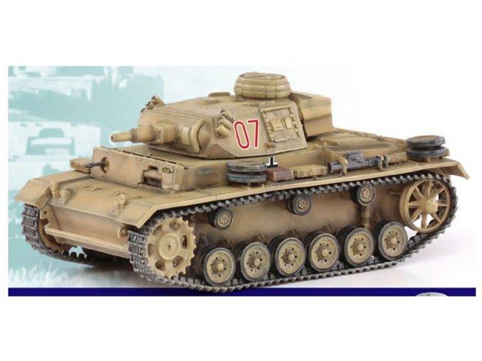 Dragon - Panzer III Ausf.N, Tunis, 1942, 1/72