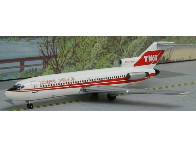 AeroClassic - Boeing B 727-031, dopravce Trans World Airlines, USA, 1980s, 1/400