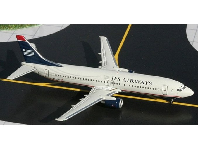 Gemini - Boeing B737-401, dopravce US Airways, USA, 1/400