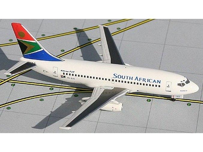Aviation 400 - Boeing B737-244, dopravce South African Airways, JAR, 1/400