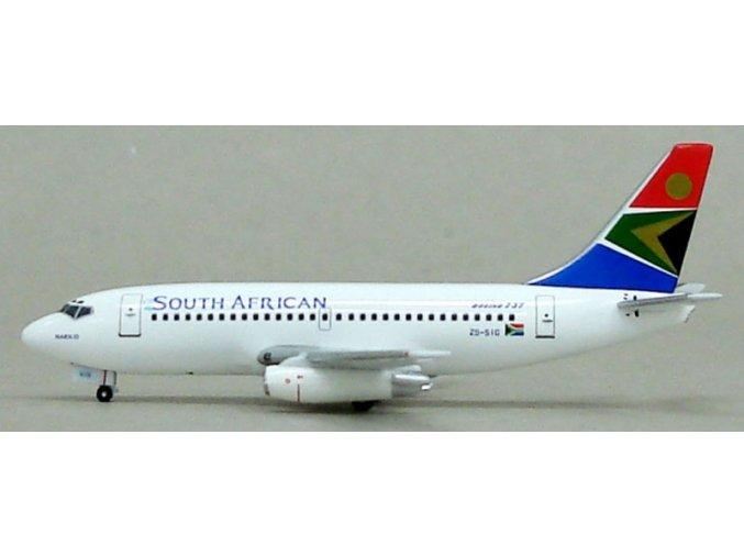 Witty - Boeing B 737-244, dopravce South African Airways, JAR, 1/400