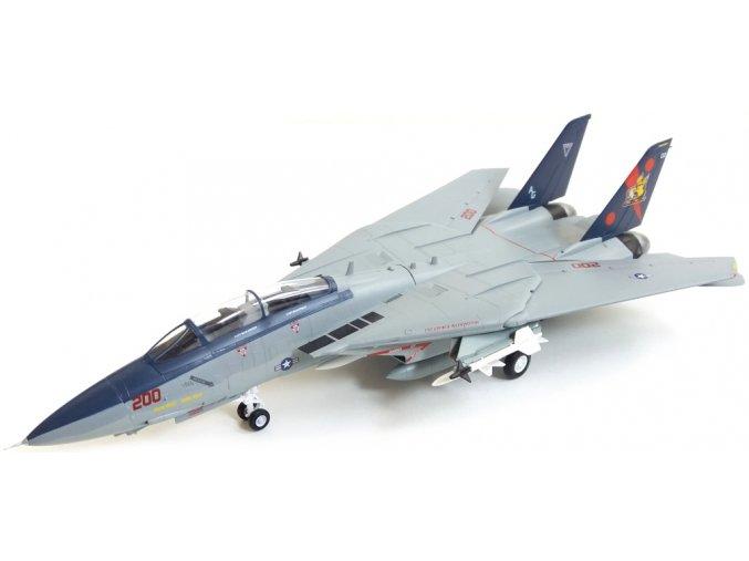 "Easy Model - Grummann F-14B Tomcat, US NAVY, USS George Washington (CVN-73), VF-11 ""Red Rippers"", 1/72"