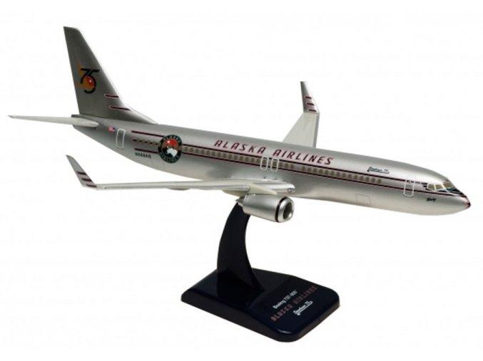 Limox - Boeing B737-890WL, dopravce Alaska Airlines, USA, výročí 75 let, 1/200