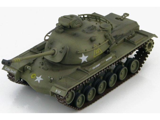 HobbyMaster - M48A2 Patton, US Army 1st Cavalry Div, Korea, 1963, 1/72