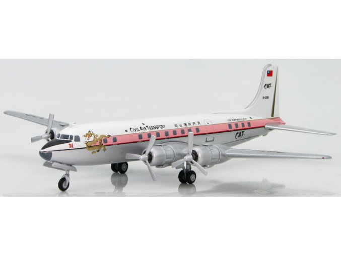 Hobbymaster - Douglas DC-6,Civil Air Transport, B-1006, Taiwan, 1958, 1/200